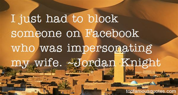 Quotes About Block On Facebook