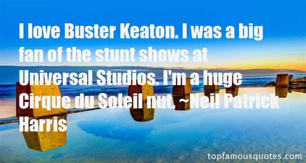 Quotes About Buster Keaton