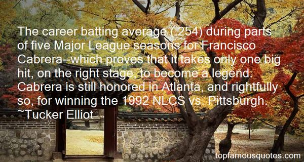 Quotes About Cabrera