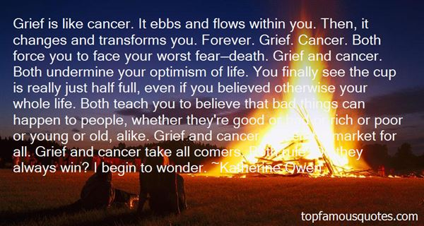 Quotes About Cancer And Death