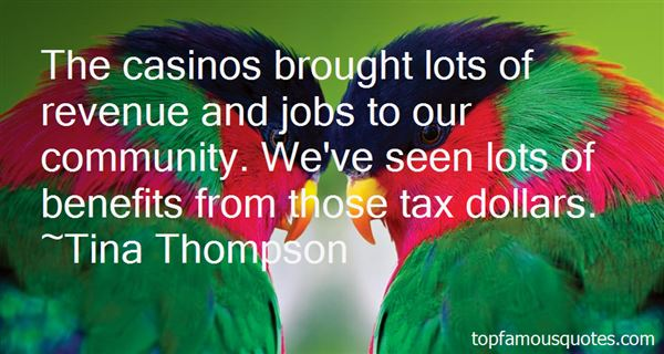 Quotes About Casinos