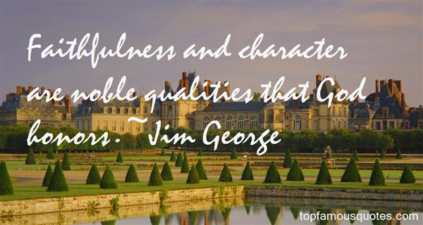 Quotes About Character Qualities