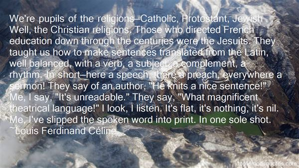 Quotes About Christian Education