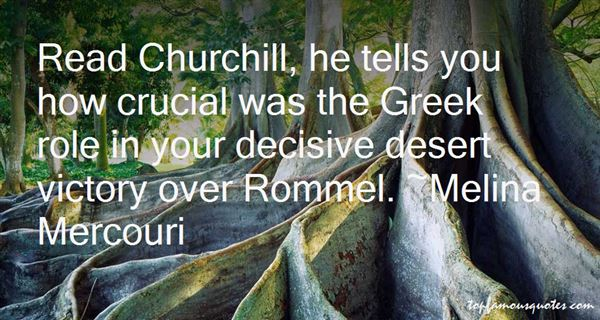 Quotes About Churchill Rommel