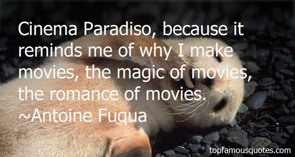 Quotes About Cinema Paradiso