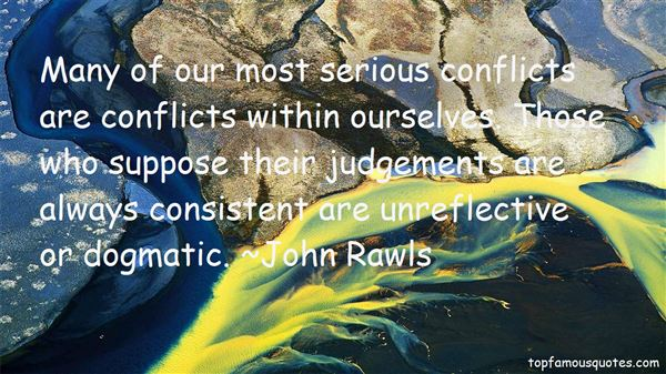 Quotes About Conflicts