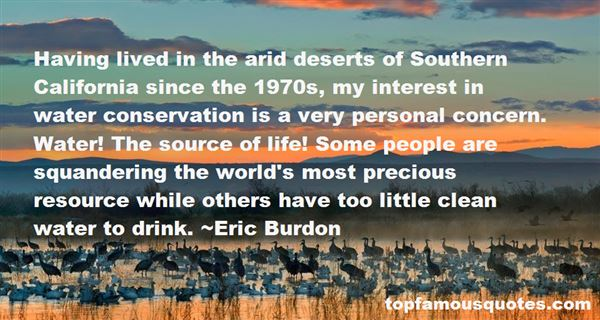Quotes About Conservation Of Water