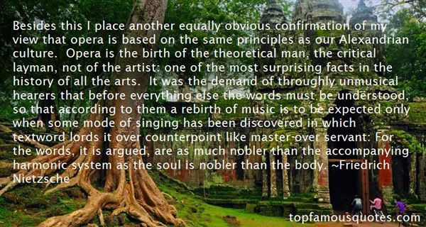 Quotes About Counterpoint