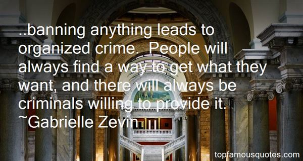 Quotes About Crime And Criminals