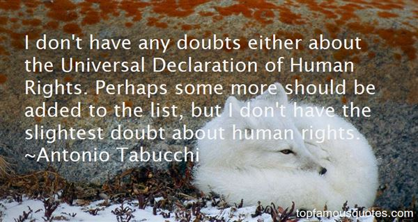 Quotes About Declaration Of Human Rights