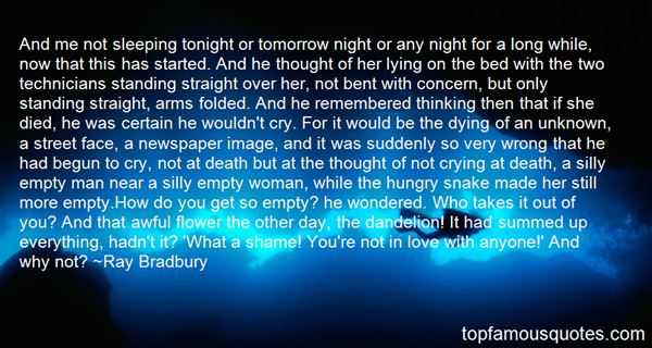 Quotes About Dying Suddenly