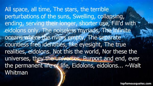 Quotes About Eidolons