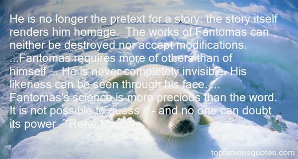 Quotes About Fantomas