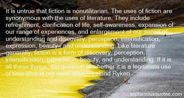 Quotes About Fiction Literature