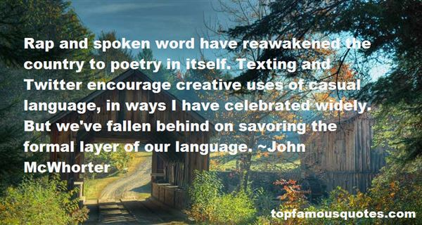 Quotes About Formal Language