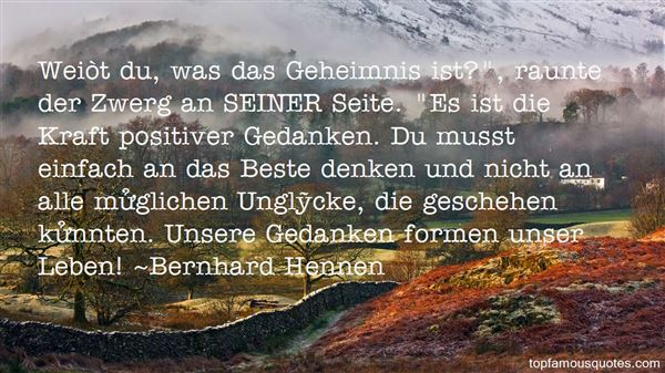 Quotes About Geheimnis