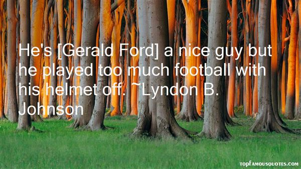 Quotes About Gerald Ford