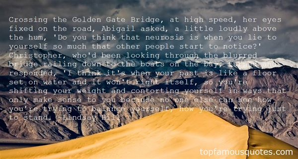 Quotes About Golden Gate