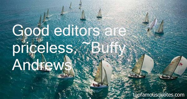 Quotes About Good Editors