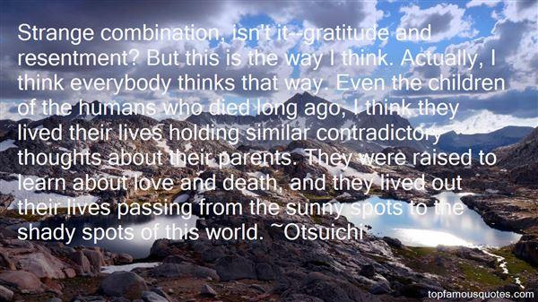 Quotes About Gratitude To Parents