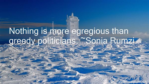 Quotes About Greedy Politicians