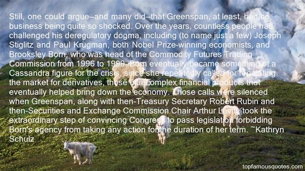 Quotes About Greenspan