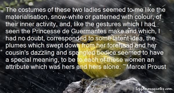 Quotes About Guermantes