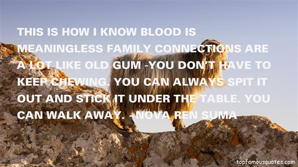 Quotes About Gum Chewing