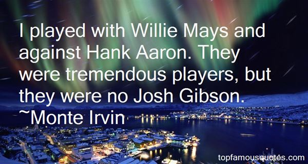Quotes About Hank Aaron