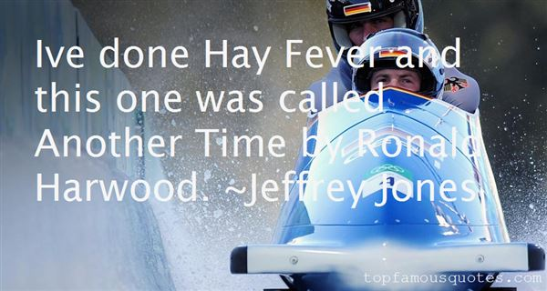 Quotes About Hay Fever