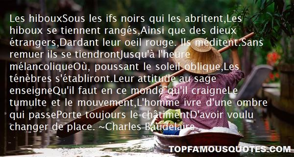 Quotes About Hiboux