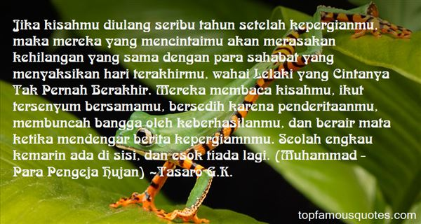 Quotes About Hilang