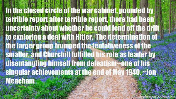 Quotes About Hitler Churchill