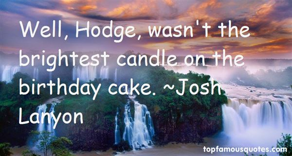 Quotes About Hodge