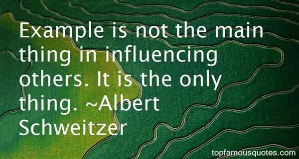 Quotes About Influencing Others