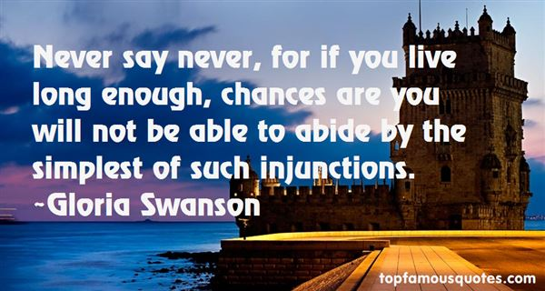 Quotes About Injunctions