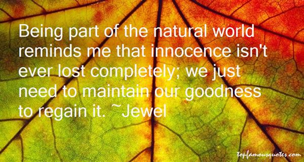 Quotes About Innocence Lost
