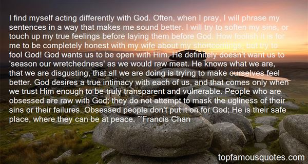 Quotes About Intimacy With God
