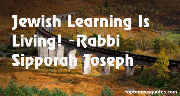 Quotes About Jewish Learning