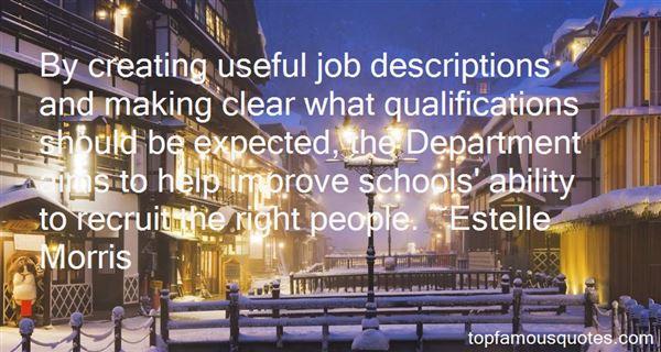 Quotes About Job Descriptions