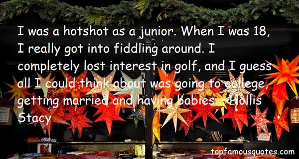 Quotes About Junior Golf
