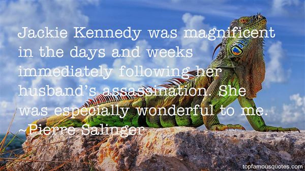 Quotes About Kennedy Assassination