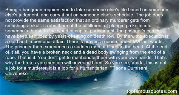 Quotes About Knife Crime