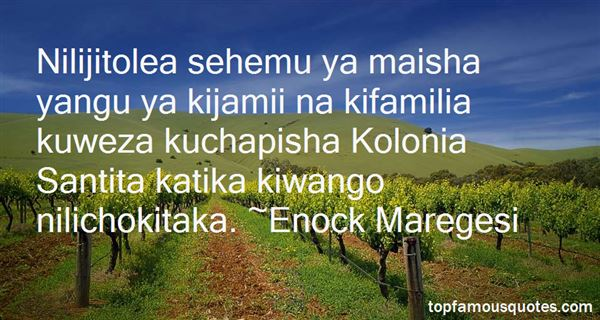 Quotes About Kolonia