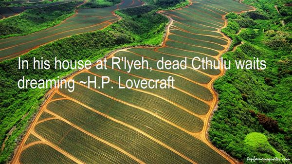 Quotes About Lyeh
