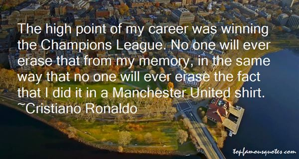 Quotes About Manchester United