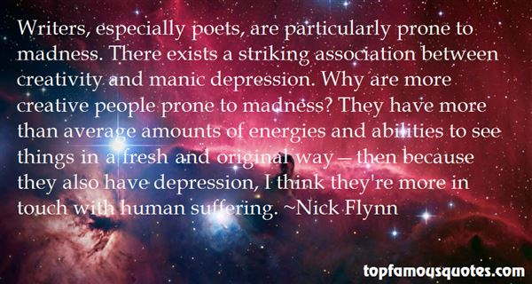 Quotes About Manic Depression