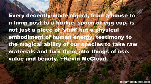 Quotes About Materials Things