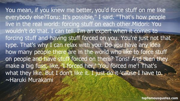 Quotes About Midori
