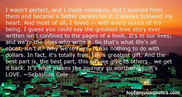 Quotes About Mistake In Life